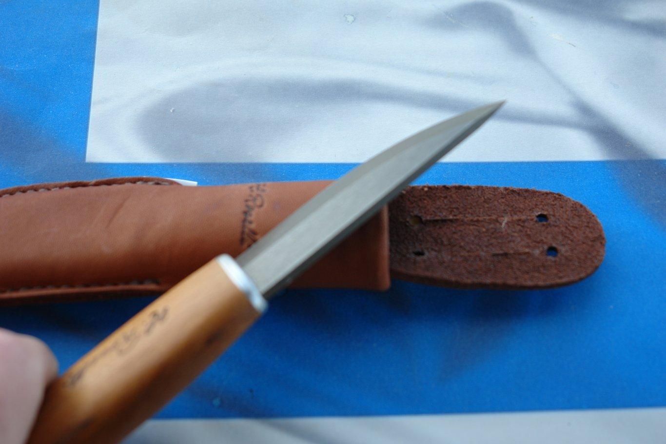 Новый финский Roselli Wootz UHC Carpenter knife | УКРАЇНСЬКЕ